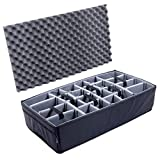 Grey CVPKG Padded dividers for The Pelican 1615 case.