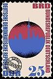 Notizbuch Deutschland Einheit Briefmarke A5 120 Seiten liniert: Schreibblock Ostalgie DDR Ostdeutschland Berlin Notizblock Nostalgie als Geschenk zu Weihnachten
