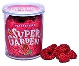 Supergarden frambuesa liofilizada - Snack saludable - Producto 100% puro y natural - Apto para veganos - Sin azúcares, aditivos artificiales ni conservantes añadidos - Sin gluten - No OMG