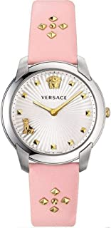 Versace Audrey Quartz Silver Dial Ladies Watch VELR00119