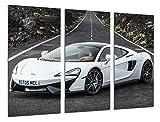 Cuadro coche blanco