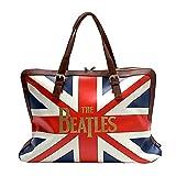 BEATLES ビートルズ (来日55周年記念) - Union Jack/ボストンバッグ/Disaster(U.K.ブランド) / バッグ 【公式/オフィシャル】