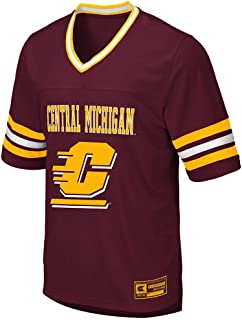 Colosseum Mens CMU Central Michigan Chippewas Football Jersey