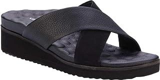 حذاء نسائي من Walking Cradles حذاء Hudson ذو كعب عريض أسود مقاس 7 M