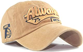 Yutdeng Cappello Uomo New York Vintage Cappellino Ricamo Berretto da Baseball Hip Hop Sport Cappellino retrò Cappellini co...