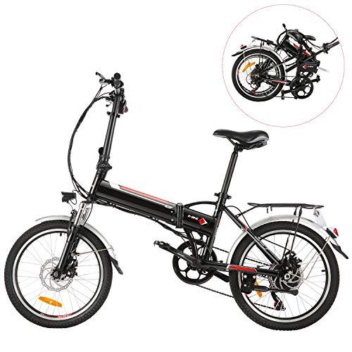 Vélo électrique pliable BIKFUN 250 W (autonomie de 50 km)