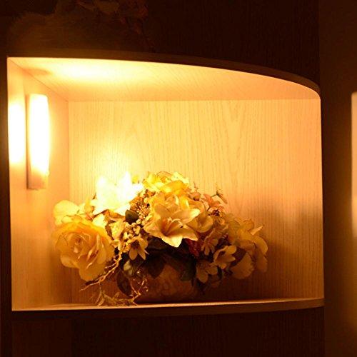Applique Murale Luminaires Intérieur Le témoin de Charge LED lumières Armoire penderie Corridor Corps Humain Induction Lampes Appliques, Yellow Light