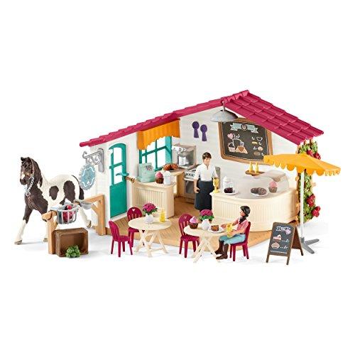 Schleich 42417- Reiter-Café Spielzeug