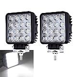 2X 48W LED Arbeitsscheinwerfer 12V 24V...