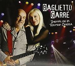 BAGLIETTO JUAN CARLOS / GARRE SILVINA JUNTOS EN EL TEATRO OPERA