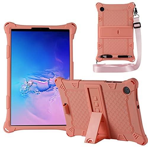 KATUMO Custodia Compatibile con Lenovo M10 HD 10.1' 2a Generazione 2020 (TB-X306F/X306X), Silicone Cover per Lenovo M10 FHD 10,3' 2020 (TB-X606F/X606X) Strappo e Tablet Stylus Pen