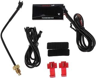 Gwxevce universal Motorrad LCD digital Thermometer Instrument wassertemperatur Meter Gauge für koso Racing Roller