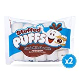 Stuffed Puffs, Classic Milk Chocolate, Filled Marshmallows Made with Real Chocolate, 2 bags (8.6 oz each)