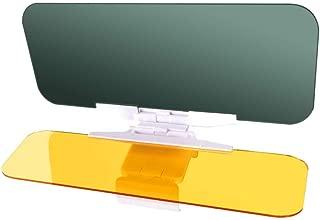 LILIONGTH Car Sun Visor Goggles 2 in1 Day and Night Anti-Glare Windshield Mirror Interior Kits