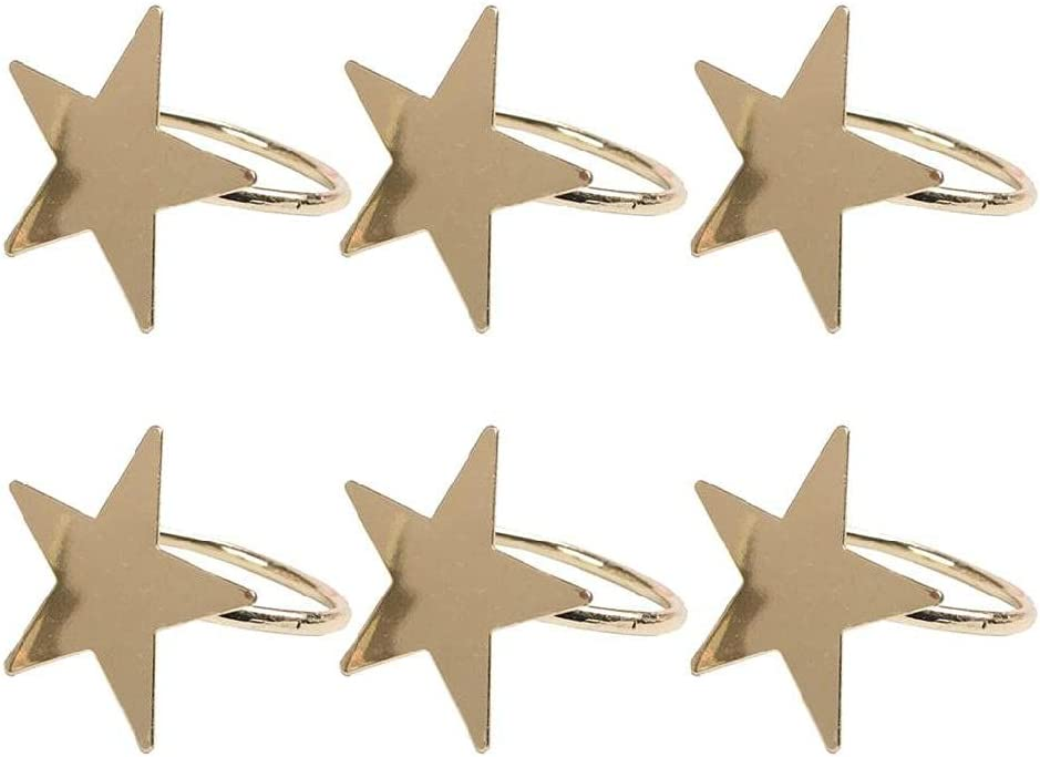 Five-Pointed Japan's largest assortment Star Napkin Special Campaign Ring Christmas for Suitable
