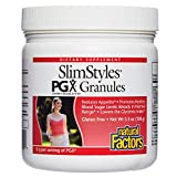 PGX by Natural Factors, SlimStyles Granules, Supports Healthy Weight Management, Plant-Based Dietary Supplement, 5.3 oz (30 servings)