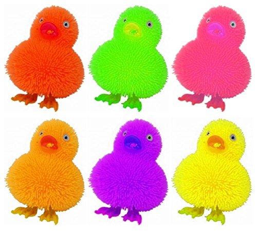 Concept4u - Peluche a forma di anatre, colori assortiti, per animali domestici, decorazione pasquale, ideale come regalo per bambini, divertente