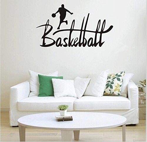 Vovotrade® Basket-ball Sport amovible Autocollant Mural Chambre Mural Decal Home Decor Vinyl Art