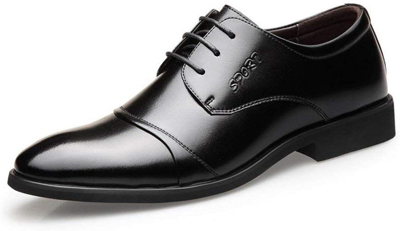 HhGold HhGold HhGold Herren-Formale Schuhe, Frühlings Schuhe, Spitzen Schuhe, Spitze Zehenschuhe, Perfekt Für Einen Tag Im Büro,schwarz,42 (Farbe   Wie Gezeigt, Größe   Einheitsgröße)  cc8b56