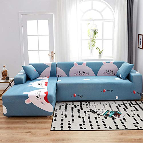 Thick Sofa Covers,Voll deckender elastischer Sofabezug, universeller Kissenbezug für alle Jahreszeiten, Möbelschutzbezug-Farbe 6_90-140cm