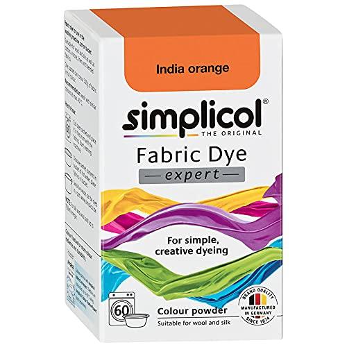 simplicol 12532 - Pintura textil (150 g), color naranja