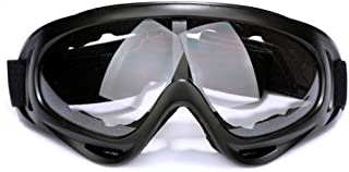 Motorcycle Parts Goggles Anti-UV Goggles Outdoor Windproof Glasses Eyeglasses (Color : Transparent)