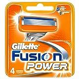 Gillette fusion power cargador 4 recargas
