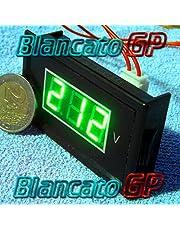 Digitale voltmeter AC 60-500V LED groen paneel 220V 230V wisselstroom