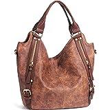 iYaffa Handtaschen Damen Taschen Schultertaschen Umhängetaschen Handtaschen für Frauen PU Leder...