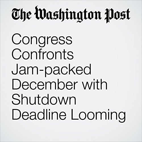 Congress Confronts Jam-packed December with Shutdown Deadline Looming copertina