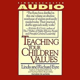 Teaching Your Children Values audiobook cover art