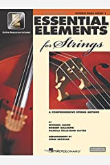 Essential Elements for Strings with EEi- Book 1 - Double Bass (A Comprehensive String Method) Bk/Online Media Paperback