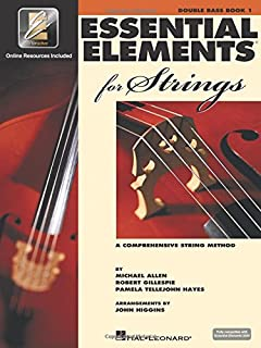 Essential Elements for Strings - Book 1 with Eei: Double Bass