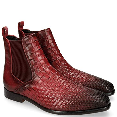 Melvin & Hamilton Luke 2 Interlaced Turtle Burgundy-44