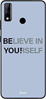 ZOOT Protective Printed Case Cover For Huawei Y8S Believe In Youself Be You,Thermoplastic Polyurethane Slim fit Clear Prot...