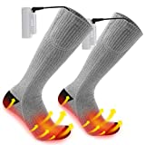 Heated Socks for Men/Women - Upgraded Rechargeable Electric Socks...