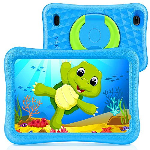 "VANKYO MatrixPad S8 8 inch Kids Tablet, 2GB RAM, 32GB ROM, Kidoz Pre Installed, 8"" IPS HD Display, Android OS, WiFi Tablet, Kid-Proof, Dual Camera, GPS, FM, Blue"