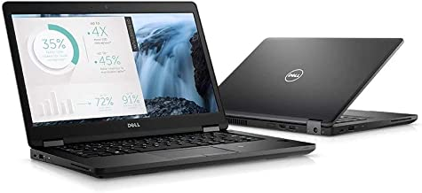 Dell Latitude 5480 DYHJ1 Laptop (Windows 10 Pro, Intel Core i7-7600U, 14