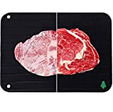 Sekoya NEW Natural Rapid Defrosting Tray - Ultra Fast Thawing Plate for Frozen Meat Pork B...