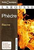 Phedre (Petits Classiques Larousse) by Jean Racine (2007-02-03) - Editions Larousse - 03/02/2007
