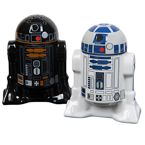 Funko 1415.8241.71 Star Wars Droid Salt and Pepper Shakers, Ceramic, Multi-Colour