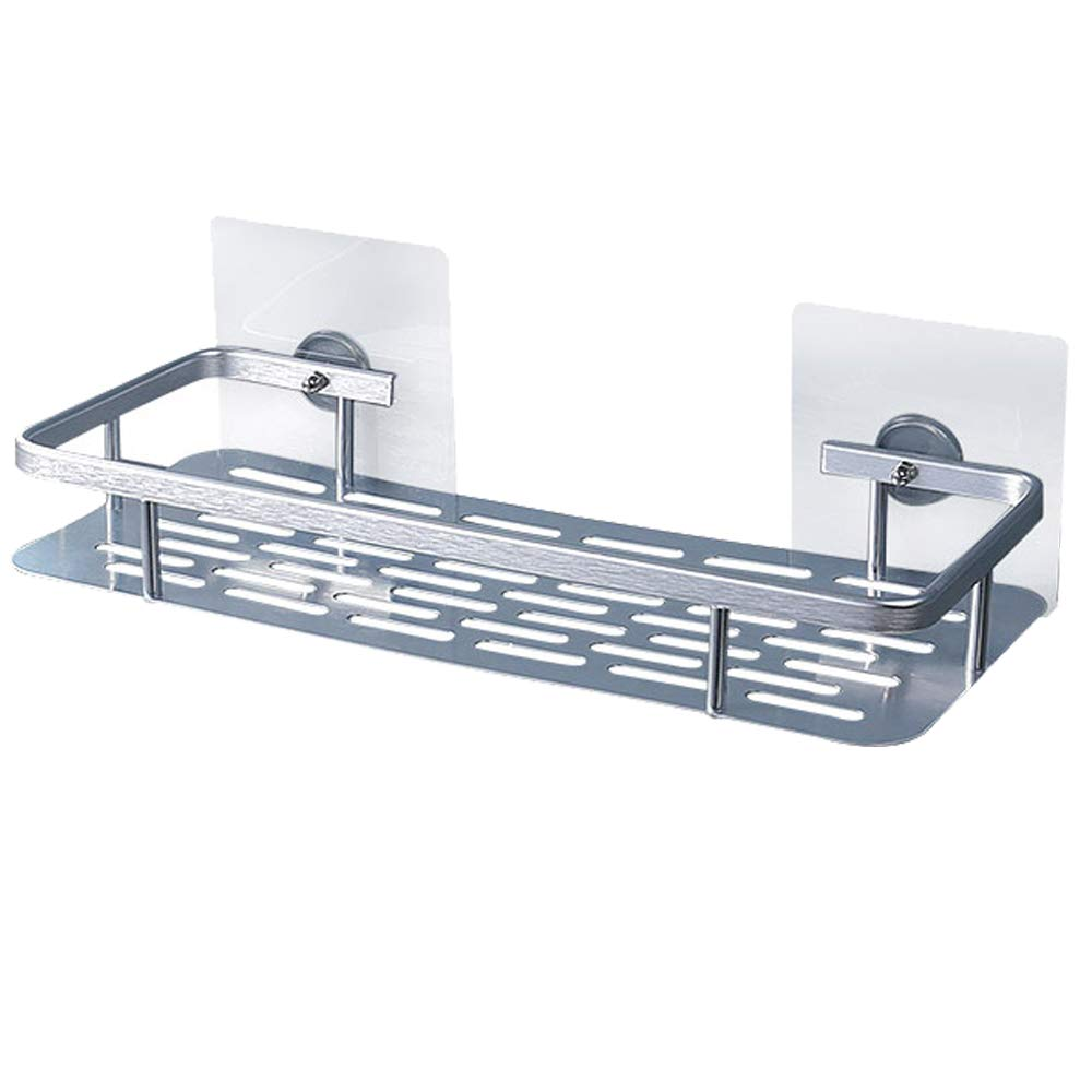 Bathroom Shower Shelf Space aluminum Shampoo Basket Wall mount Storage rack New