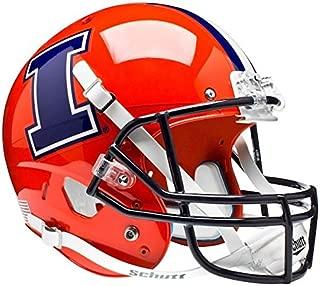 ILLINOIS FIGHTING ILLINI Schutt AiR XP Full-Size REPLICA Football Helmet (ORANGE)