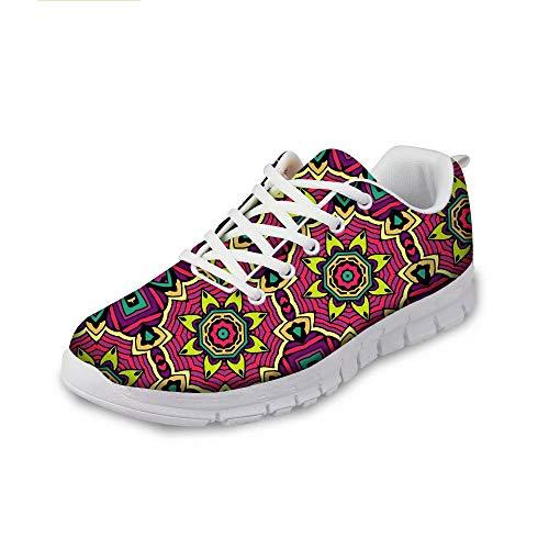 MODEGA Bunte Schuhe für Männer Schuhe Turnschuhe Männer Art und Weise beiläufige Schuhe gehen für Männer Badmintonschuhe Herrenmode Tennis blendend Größe 41 EU|7 UK