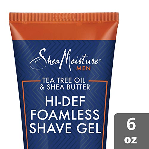SHEA MOISTURE Tea Tree Oil/Shea Butter Hi-Def Foamless Shave Gel