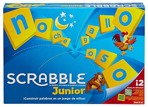 Mattel Games - Scrabble Junior