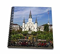 3dRose db_90466_1 St. Louis Cathedral, New Orleans, Louisiana-Us19 Dfr0091-David R. Frazier-Drawing Book, 8 by 8-Inch [並行輸入品]
