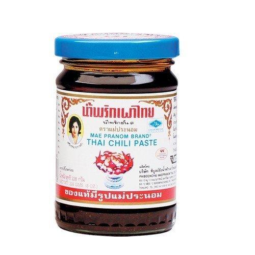 Mae Pranom Thai Chili Paste 8 Oz.