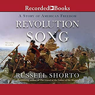 Revolution Song audiobook cover art