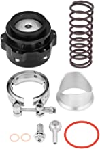Qiilu Universal 2inch Car Turbo Blow Off Valve BOV Kit with Adapter Spring